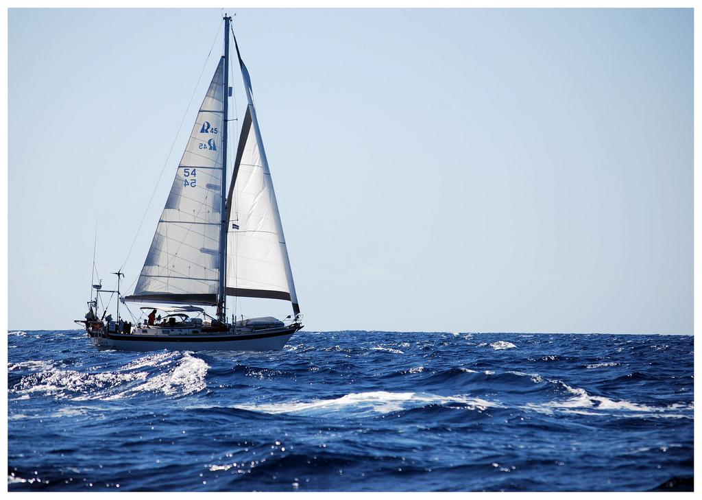 Segelschiff vor Tarrafal de Montrigo